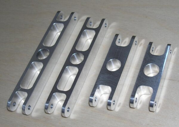 RFM Mittelteil 100mm für 12mm Welle, 12mm Blattwurzel