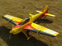 Sebart Angel S Evo 30E 128cm gelb/schwarz/rot