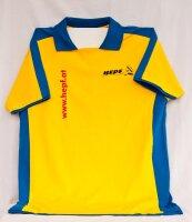 gelb/blaues T-Shirt im HEPF-Design (L)