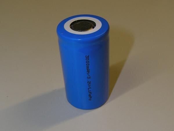 Li-IonFePo4- LiPho Zelle 3000mAh