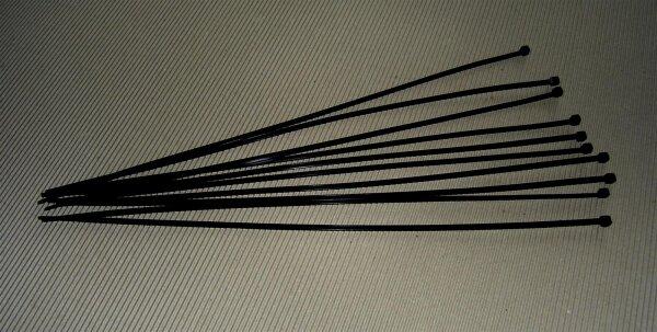 Kabelbinder 370x3,6mm (schwarz) (VE 100)