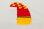 Seitenruder in rot/gelb für YAK 55M 1.4