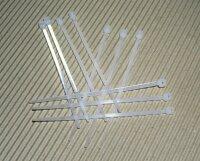 Kabelbinder weiß zum Wiederöffnen (VE 100)