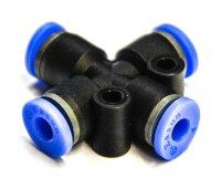 Druckluftverbinder - 4 Wege