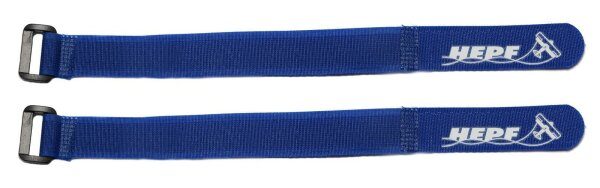 Akkugurt dunkelblau 35cm (Paar)