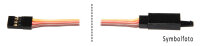 Servoverlängerungskabel 100cm (System JR)...