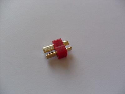 LiPo (Deans) T-Stecker 50A / gold