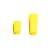 Sender Schalterkappen - gelb (1x kurz, 1x lang)