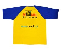 gelb/blaues T-Shirt im AXI Design (XXL)
