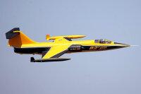 F-104 Starfighter PNP 90mm EDF - gelb