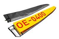 Tragflächentasche für GB-Models Musger MG-19...