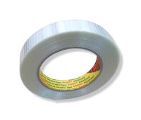 Filamentklebeband, Kreuzgewebe 50m, 19mm breit