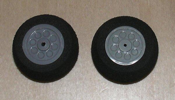 Räder für Fahrwerke (2Stk) 26x12mm