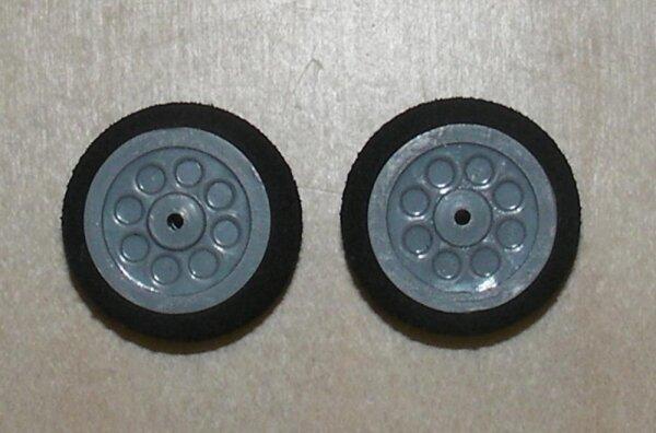 Räder für Fahrwerke (2Stk) 20x12mm