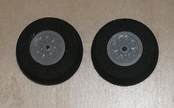 Räder für Fahrwerke (2Stk) 30x12mm