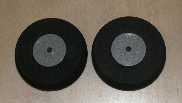 Räder für Fahrwerke (2Stk) 55x20mm