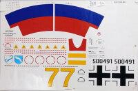 "Freewing Me 262 ""Yellow 7"" V2 Decal Sheet"