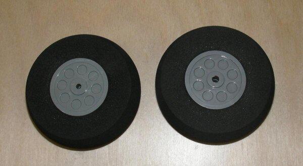 Räder für Fahrwerke (2Stk) 70x24mm