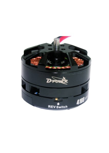 D-Power BULLET 4108-320 Brushless Motor & Regler System