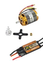 D-Power Brushless SET AL35-08 & 60A Comet Regler