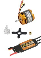D-Power Brushless SET AL35-12 & 40A Comet Regler