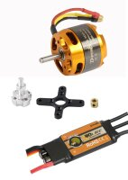 D-Power Brushless Set AL3530-10 & 40A Comet Regler