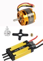 D-Power Brushless Set AL 3530-10 & 45A URANUS Regler