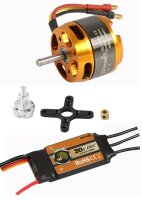 D-Power Brushless Set AL3530-12 & 20A Comet Regler