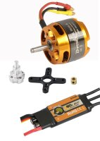 D-Power Brushless Set AL3530-8 & 40A Comet Regler