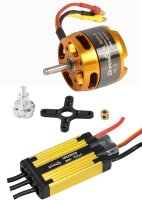 D-Power Brushless Set AL 3530-8 & 45A URANUS Regler