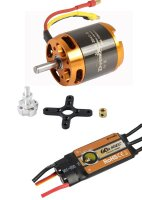 D-Power Brushless Set AL3542-5 & 60A Comet Regler