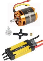 D-Power Brushless Set AL 3542-5 & 65A URANUS Regler