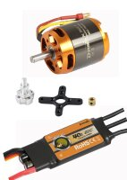 D-Power Brushless Set AL3542-7 & 40A Comet Regler