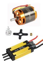 D-Power Brushless Set AL 3542-7 & 45A URANUS Regler