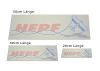 HEPF Sticker/Aufkleber Set 3-teilig