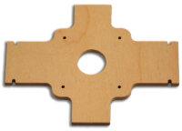 Holz Spant für Montage Hemotec 28.xx in Laser GB
