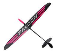 Falcon PNP F3K/DLG full CFK - Strong Pink