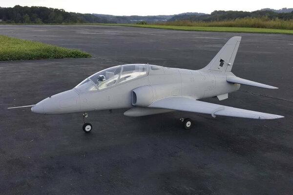"Freewing 6S Hawk T1 ""Base Grey"" Hochleistungs-70mm EDF Jet - PNP"