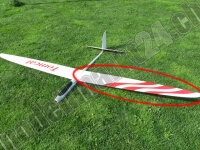 Ersatzflügel Links RCRCM E-Tomcat oder Tomcat CFK...