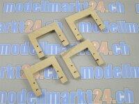 4Stk Servorahmen aus Sperrholz zu KST DS245MG / DS245S /...