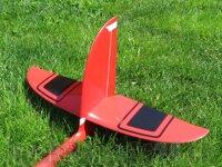 Ersatz HLW Rechts RCRCM E-Hornet/Hornet CFK/GFK Rot