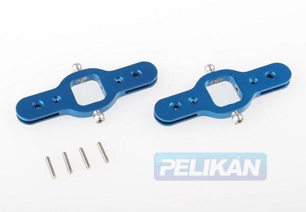 Rotorblatt Verbindungen in Blau für Easycopter XS