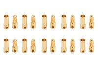 Goldkontakt kurz 3,5mm 10 Paar
