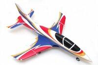 FMS Avanti V3 Jet EDF 70 PNP - 90 cm - Combo incl. Reflex...