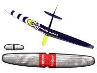 PNP Mini Dart 2 DLG strong Gelb CFK 1000mm inkl....