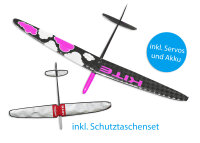 Kite CFK DLG/F3K Strong Pink Cloud 1500mm inkl....