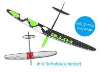 Kite PNP CFK DLG/F3K Strong Grün Cloud 1500mm inkl....
