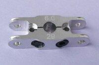 Klemm-Mittelteil 29 mm, für Blatthals 8mm, Bohrung...