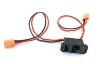 Schalter zum Anbau am Modell inkl. 2x XT60 Anschluss und...