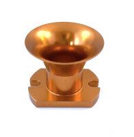 Ansaugtrichter 17mm Gold